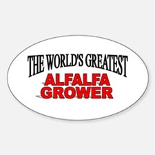 """The World's Greatest Alfalfa Grower"" Decal"