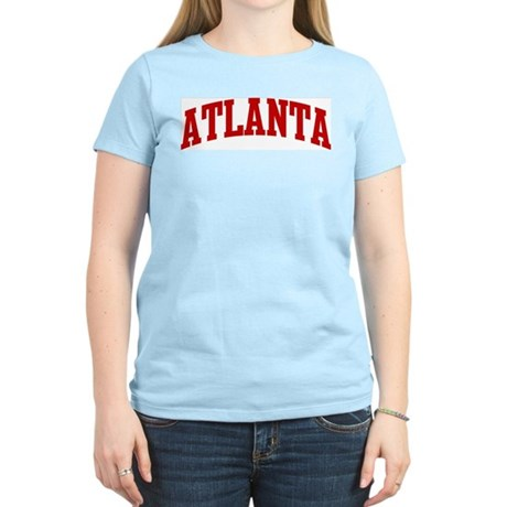 ATLANTA (red) Women's Light T-Shirt