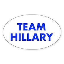 Team Hillary-Fut blue 400 Decal