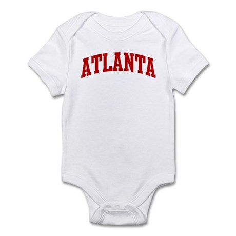 ATLANTA (red) Infant Bodysuit