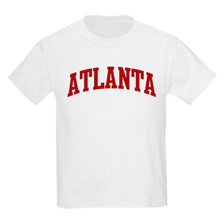 ATLANTA (red) Kids Light T-Shirt