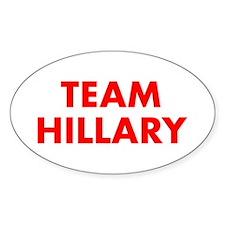 Team Hillary-Fut red 400 Decal