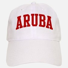 ARUBA (red) Baseball Baseball Cap