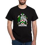 Bragg Family Crest Dark T-Shirt