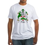 Bragg Family Crest Fitted T-Shirt