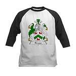 Bragg Family Crest Kids Baseball Jersey