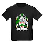 Bragg Family Crest Kids Dark T-Shirt