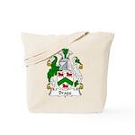 Bragg Family Crest Tote Bag