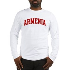 ARMENIA (red) Long Sleeve T-Shirt