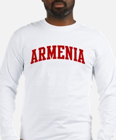 ARMENIA (red) Long Sleeve T-Shirt