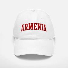 ARMENIA (red) Baseball Baseball Cap