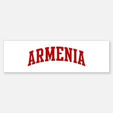ARMENIA (red) Bumper Bumper Bumper Sticker