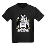 Bradley Family Crest  Kids Dark T-Shirt