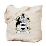 Bradley Family Crest  Tote Bag