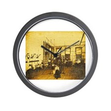 Newcomb College Gymnasium Wall Clock