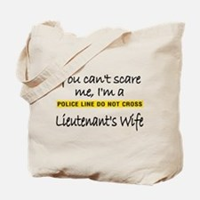 Lieutenant's Wife Tote Bag