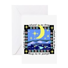 Always Kiss Me Goodnight Greeting Card