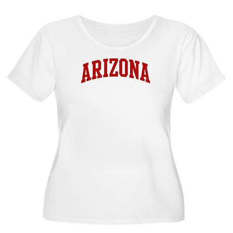 ARIZONA (red) Women's Plus Size Scoop Neck T-Shirt