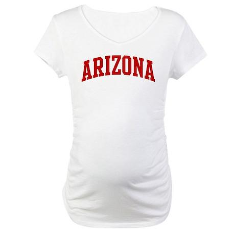 ARIZONA (red) Maternity T-Shirt