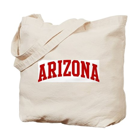 ARIZONA (red) Tote Bag