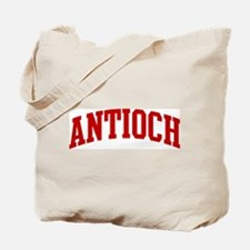 ANTIOCH (red) Tote Bag