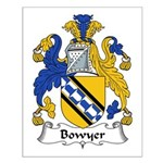 Bowyer Family Crest Small Poster