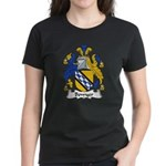 Bowyer Family Crest Women's Dark T-Shirt