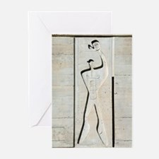 Le Corbusier design Greeting Cards