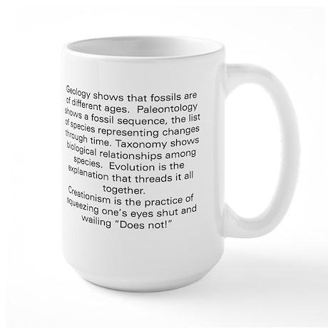 Does Not! Large Mug