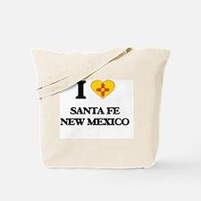 I love Santa Fe New Mexico Tote Bag