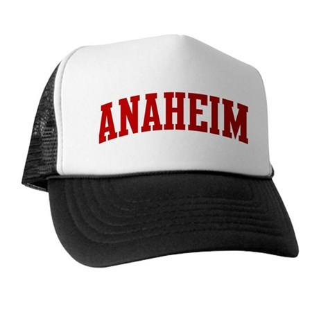 ANAHEIM (red) Trucker Hat