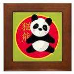 Panda Framed Tile