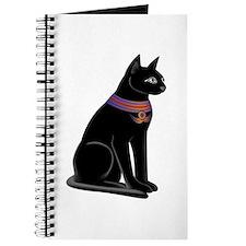 Egyptian Cat Goddess Bastet Journal