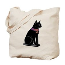 Egyptian Cat Goddess Bastet Tote Bag