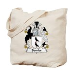 Bowler Family Crest Tote Bag
