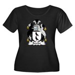 Bowler Family Crest Women's Plus Size Scoop Neck D