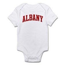ALBANY (red) Infant Bodysuit