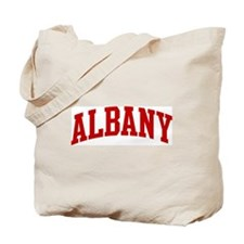 ALBANY (red) Tote Bag