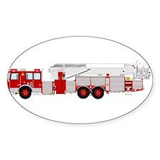 fire truck 2 Decal