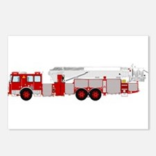 fire truck 2 Postcards (Package of 8)