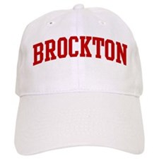 BROCKTON (red) Baseball Cap