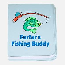 Farfars Fishing Buddy baby blanket