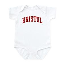BRISTOL (red) Infant Bodysuit