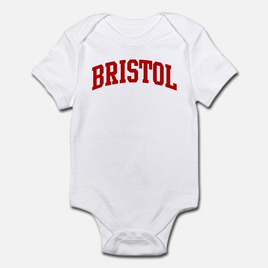 BRISTOL (red) Infant Bodysuit