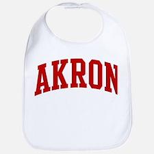 AKRON (red) Bib