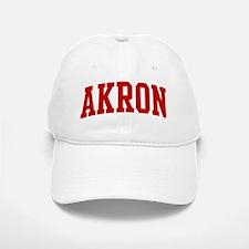 AKRON (red) Baseball Baseball Cap