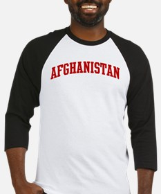 AFGHANISTAN (red) Baseball Jersey
