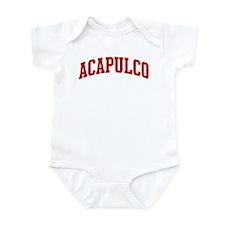 ACAPULCO (red) Infant Bodysuit