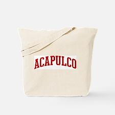 ACAPULCO (red) Tote Bag