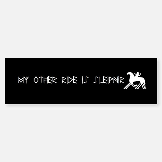 My Other Ride Is Sleipnir Car Car Sticker Bumper Car Car Sticker